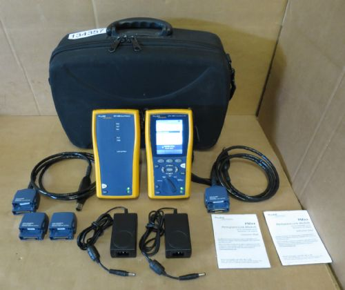 Fluke Networks DTX-1800 Cat5 Cat5e Cat6 Digital Cable Analyzer Certifier Tester